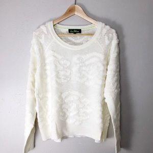 SAM EDELMAN •Fuzzy Cloud Knit Sweater•